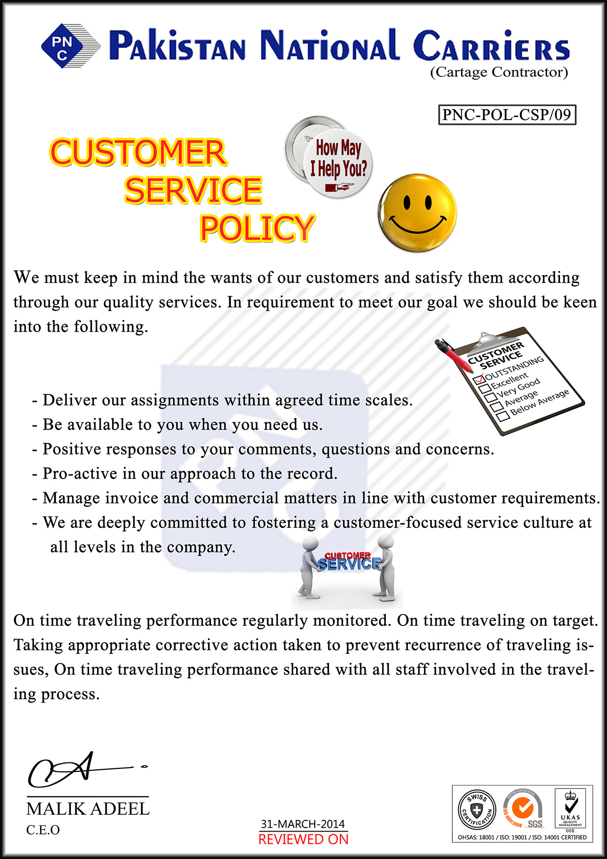 CUSTOMER-SERVICE-POLICY