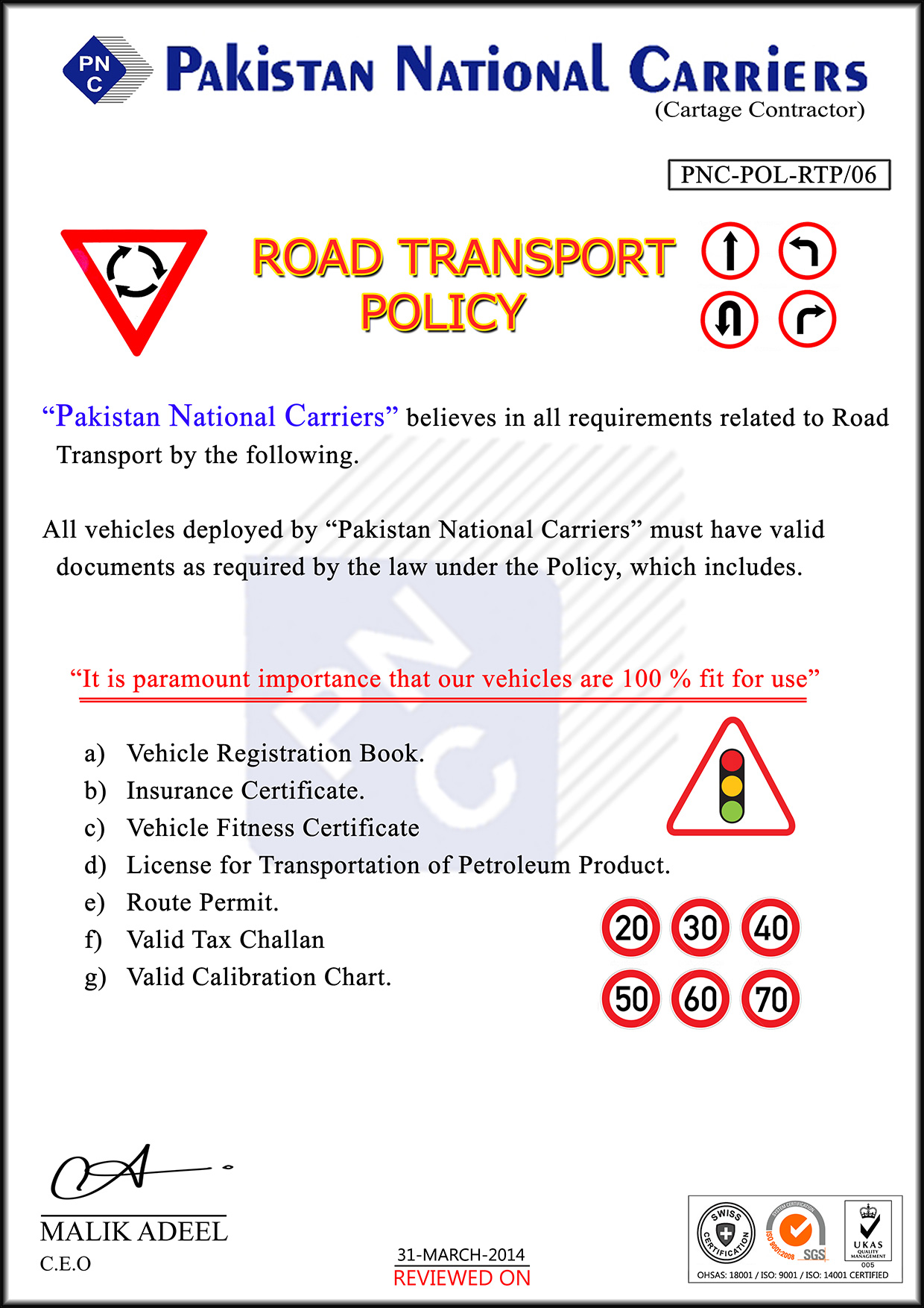 Road-Transport-POLICY