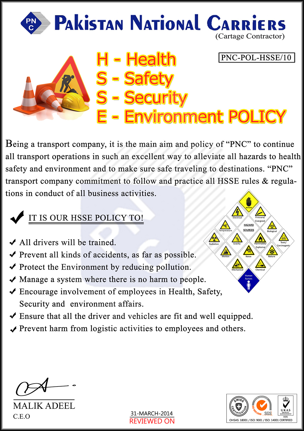 HSSE-POLICY
